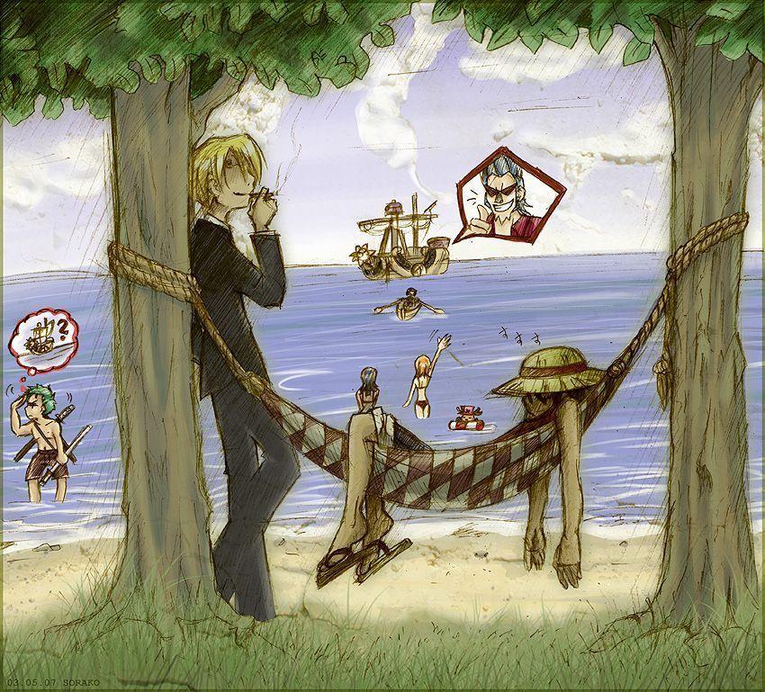 sora-ko --> One Piece - Mugiwara Chill Out